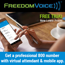 Free Trial! Toll Free Business Number