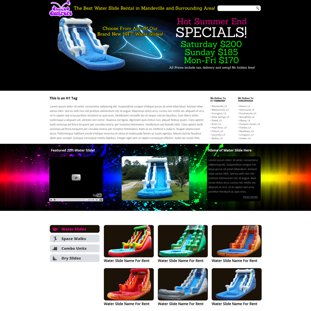 Custom web design mandeville graphic design new orleans marketing 123456 reheart Choice Image