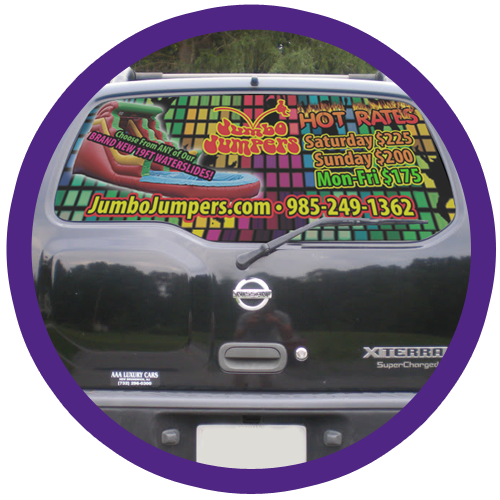 Jumbo Jumper Vehicle Decals and Wraps