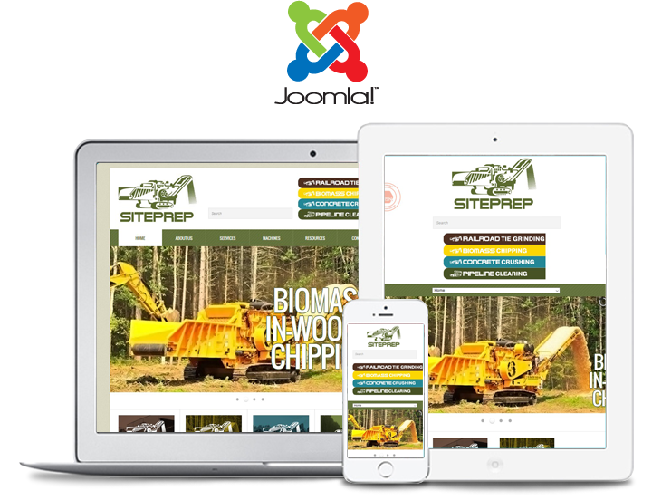 site prep responsive website design